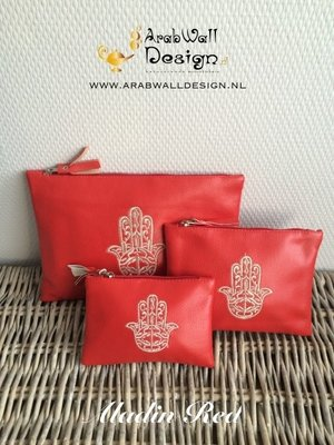 Khmisa / Khamsa Clutch (Aladin Red)
