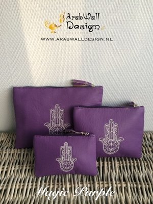 Khmisa / Khamsa Clutch (Magic Purple)